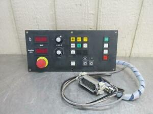Trumpf 4050 Operator Control Interface Pushbutton Switch Button Panel