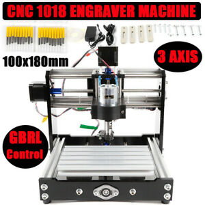 Cnc 1018 Usb Desktop Metal Mini Engraver Pvc Milling Machine Diy Mill Router Kit