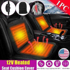 12v Universal Car Seat Heated Cover Cushion Heater Hot Pad Cover Warmer Winter
