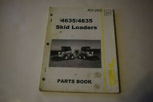 Gehl 4635 4835 Skid Loaders Parts Book