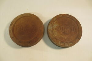 1960 S Ford F250 Pickup Truck Poverty Bottlecap Dog Dish Hub Caps Wheel Covers