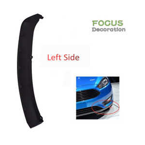 Driver S Side Left Front Bumper Valance Air Deflector For 2012 2014 Ford Focus