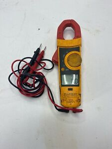 Fluke 335 True Rms 600 Amp Ac Current Clamp Meter W Leads