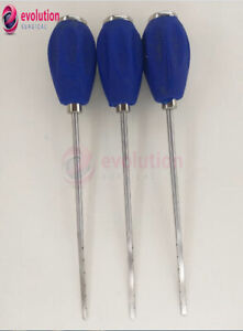 Surgical Orthopedic Spine Straight Probe Medical Instrument 3 Pcs