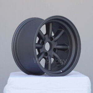 4 Rota Wheel Rkr 15x9 4x100 0 Magnesium Black Last Set