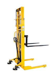 Staxx Manual Straddle Leg Stacker 2200lbs Load Capacity
