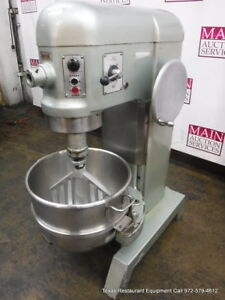 Hobart L800 Donut Dough Mixer 80 Quart With Bowl Paddle