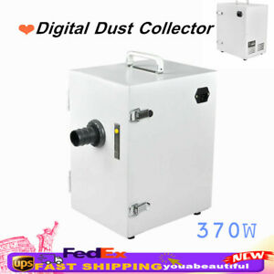Industry Dental Lab Digital Dust Collector Bench Vacuum Cleaner Single row 370w