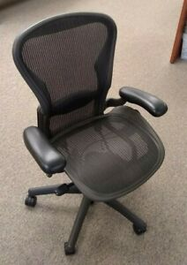 Herman Miller Aeron Office Chair Fully Adjustable Components Lumbar Support