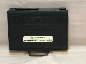 Greenlee Power Finder Circuit Tracer Works Great