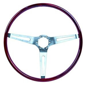 For Chevy Camaro 69 Dynacorn 3 Spoke Steering Wheel W Simulated Rosewood Grip