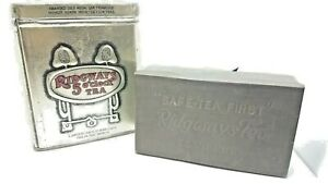 2 Vintage Tea Tins Ridgeway's 5 o'clock & Safe-Tea First  early 20th century