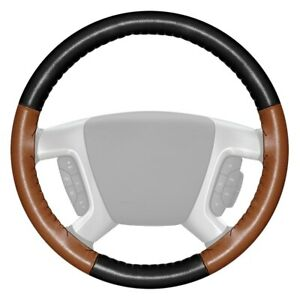 For Dodge Ram 3500 94 97 Steering Wheel Cover Eurotone Two color Black Steering