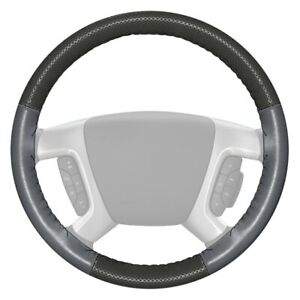 For Dodge Ram 1500 98 04 Steering Wheel Cover Europerf Perforated Charcoal