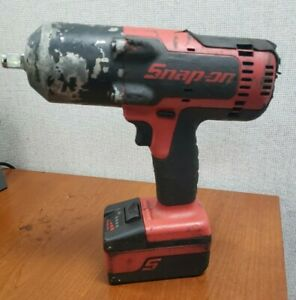 Snap On Ct8850 Cordless Impact 1 2 Drive With Battery