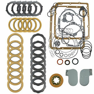 Jetaway Transmission Super Rebuilding Kit With Filter Fits 1956 1964
