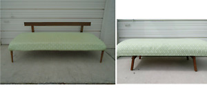 Daybed Trundle Twin Size Bed Mid Century Modern Sofa Bentwood Back Mcm Eames Era