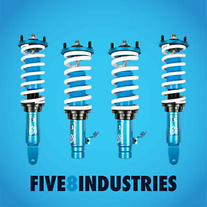 For 92 97 Honda Civic Del Sol Eg Five8 Industries Coilovers Height Adjustable