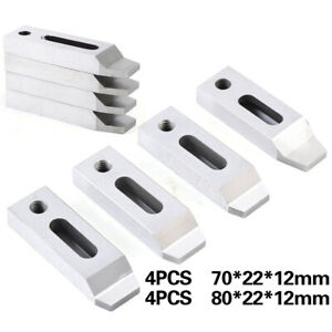 4pcs Cnc Cut Wire Edm Machine Jig Holder For Clamping Leveling M8 Screw Size