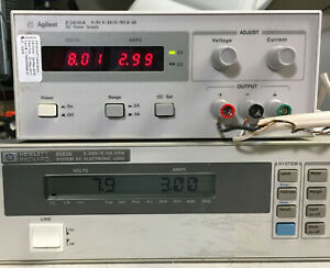Agilent Hp E3610a Dc Power Supply Dual Range 0 8 V 3a 0 15v 2a Load Tested