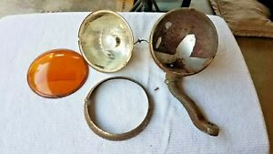 Antique Vintage Fog Light Old Unique Car Truck Ford 1930 s Repair Or Parts