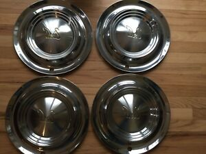 1956 56 Desoto Firedome Hubcaps Wheel Covers Center Cap Vintage Classic Antique