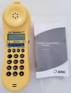 Lb220 New Lil Buttie Pro Telephone Test Set W Headset Bed Of Nails Clips
