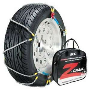 Peerless Z575 Z Chain Vehicles light Truck Snow Tire Chains Pair used