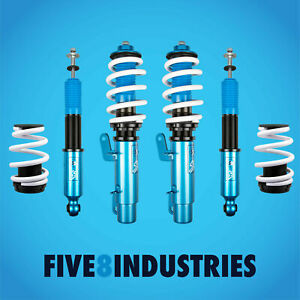 For 99 05 Volkswagen Golf Five8 Industries Height Adjustable Coilovers Kits