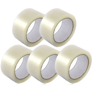 New 2 Inch Premium Packing Tape 5 Rolls Of Clear Tape 2 110 Yards 330ft