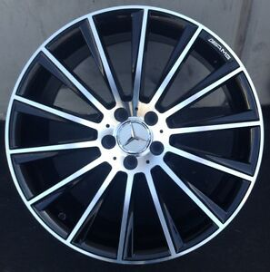 22 Inch Wheels Fit Mercedes S550 Bentley Gt S63 Cls550 S And Tires Black New
