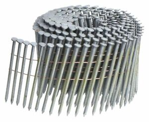 Bostitch Framing Nails 3 1 4 Length Steel Thickcoat Galvanized Coil Pk