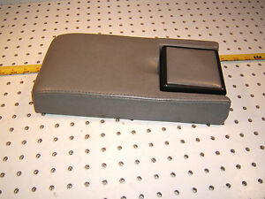 Mercedes Early R129 Sl Custom Made Gray Center Console Cup 1 Holder Armrest