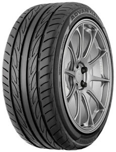 2 New Yokohama Advan Fleva V701 235 40r17 90w High Performance Tires