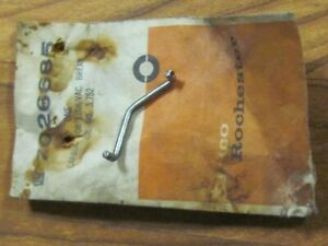 Nos 1966 66 Oldsmobile Olds 442 Tripower 3x2 Center Carb Linkage Rod 7026685