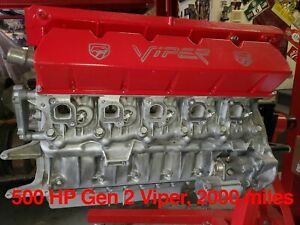 2002 Dodge Viper 2nd Gen Engine 2k Miles Drive Line Transmission Ac