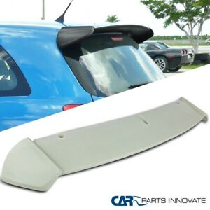 For 06 11 Toyota Yaris Hatchback Factory Style Rear Trunk Spoiler Wing Unpainted