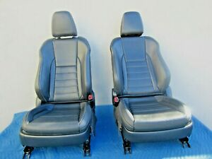 2015 2017 Lexus Nx200t F Sport Oem Front L R Black Leather Seat Set 28k Wh