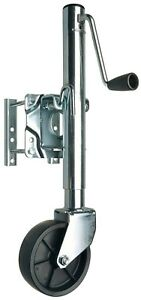 Reese Towpower 74410 Trailer Swivel Mount Jack With Wheel New Free Shipping Usa