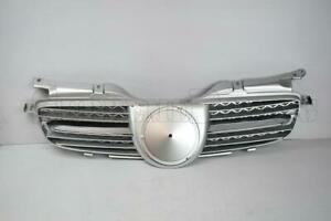 Silver Chrome Abs Front Grille For 1998 2004 Mercedes Benz W170 R170 Slk Class