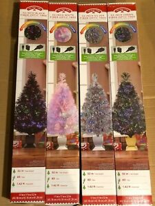 Holiday Time 32quot; Fiber Optic Tree Choose Color