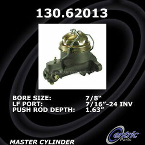 For Chevy Bel Air Biscayne Corvair Impala Centric Brake Master Cylinder Tcp