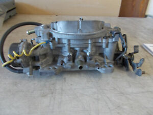 Carter Afb Carburetor 9637sa Dated 020b 625 Cfm Electric Choke Looks Fresh Good