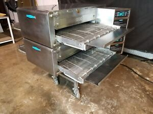 Turbochef Hhc2620 Dbl Stack Electric Conveyor Pizza Ovens video Demo