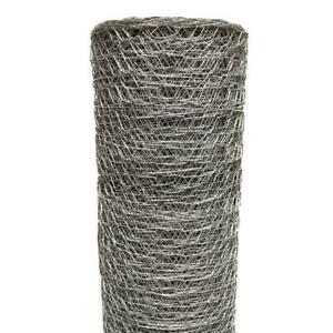 Poultry Netting 2 In X 6 Ft X 50 Ft Chicken Wire Metal Mesh Garden Plant Fence