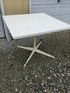 Vintage Knoll Richard Schultz Dining Table 148 Stacking Chair 50s 60s Eames Rare