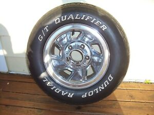 Ford F150 15 Inch Chrome Wheel And Tire