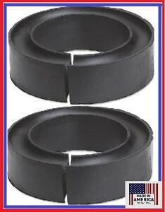 Pair Universal Coil Spring Lift Spacers Fit 4x4 Toyota Nissan Chevy Mitsubishi