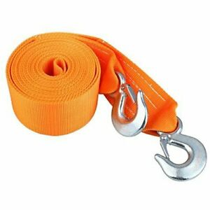 3 X 20ft 18 000 Lb Heavy Duty Tree Saver Winch Strap Recovery Tow Snatch Hooks