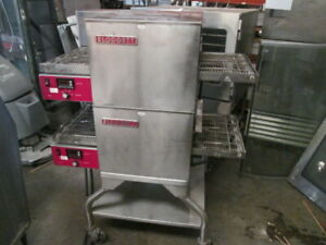 Blodgett Double Stack 18 Electric Conveyor Pizza Oven 240v 1ph